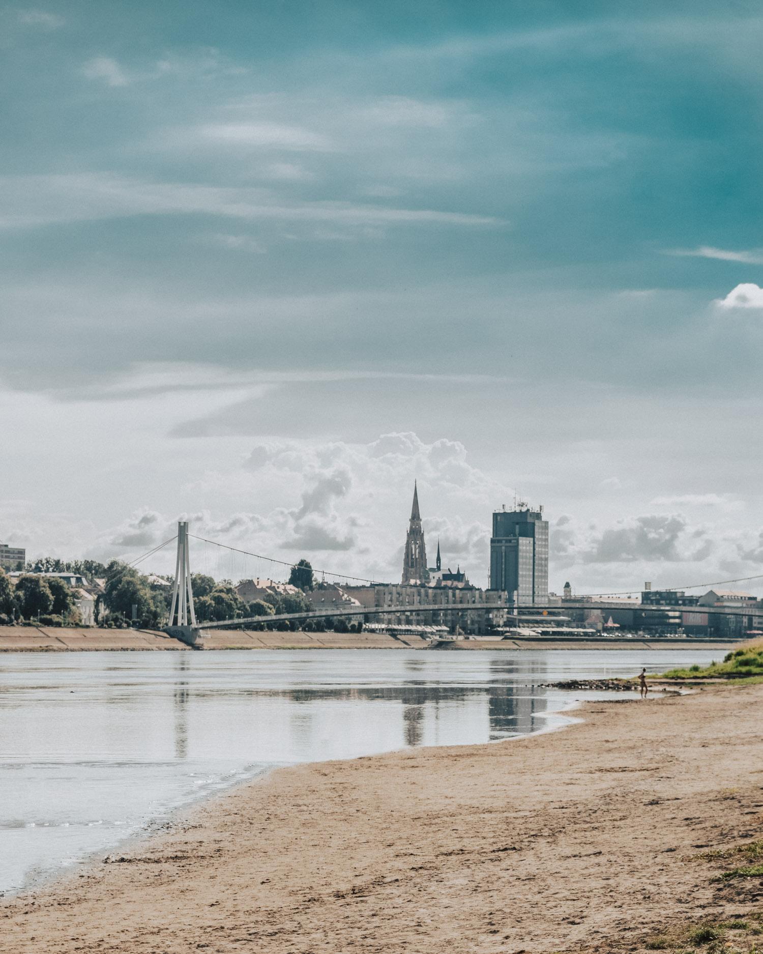 Cobacabana Beach in Osijek, Slavonia, Croatia