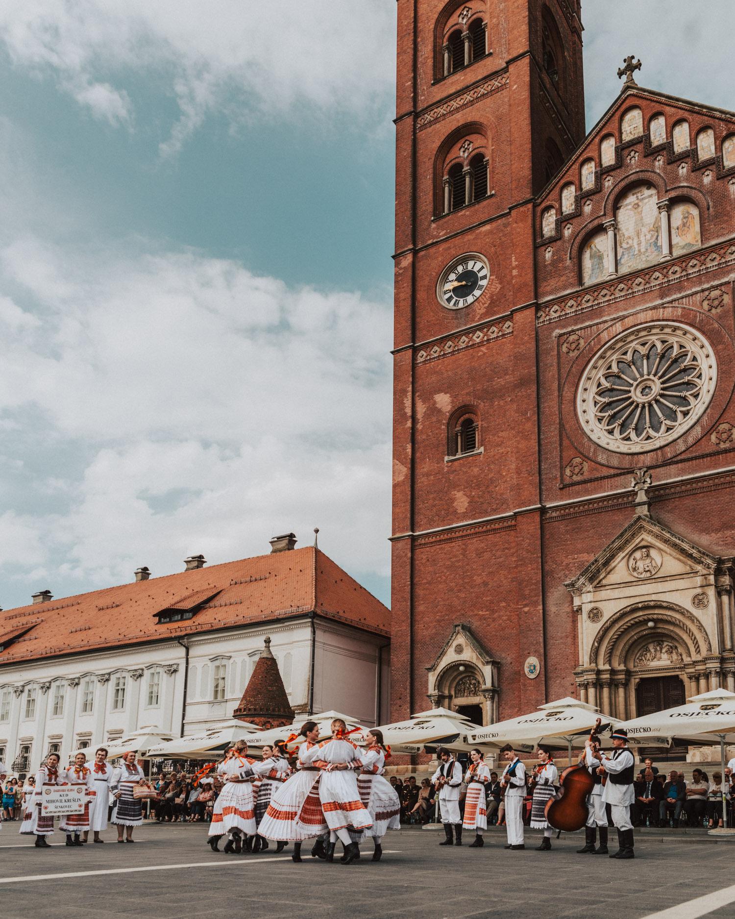 Đakovo Embroidery Festival, Slavonia, Croatia
