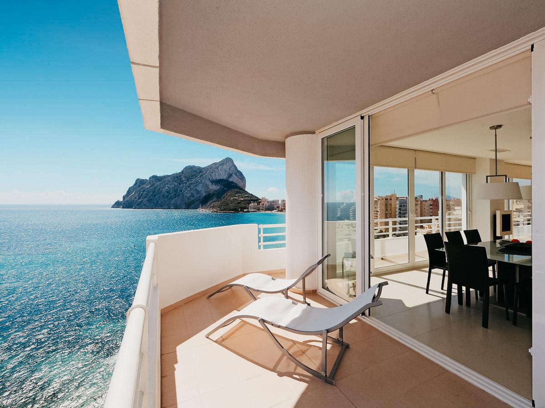 Lägenhet i Costa Blanca | Esmeralda 01, Calpe, Spanien