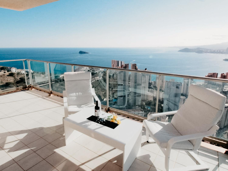 Bästa semesterbostäderna i Spanien |Lägenhet Torre Lugano i Benidorm