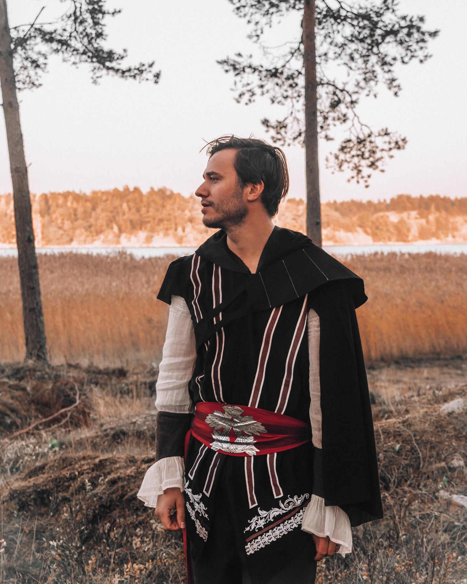Snyggaste maskeraddräkterna inför Halloween |Ezio Assassin's Creed Maskeraddräkt