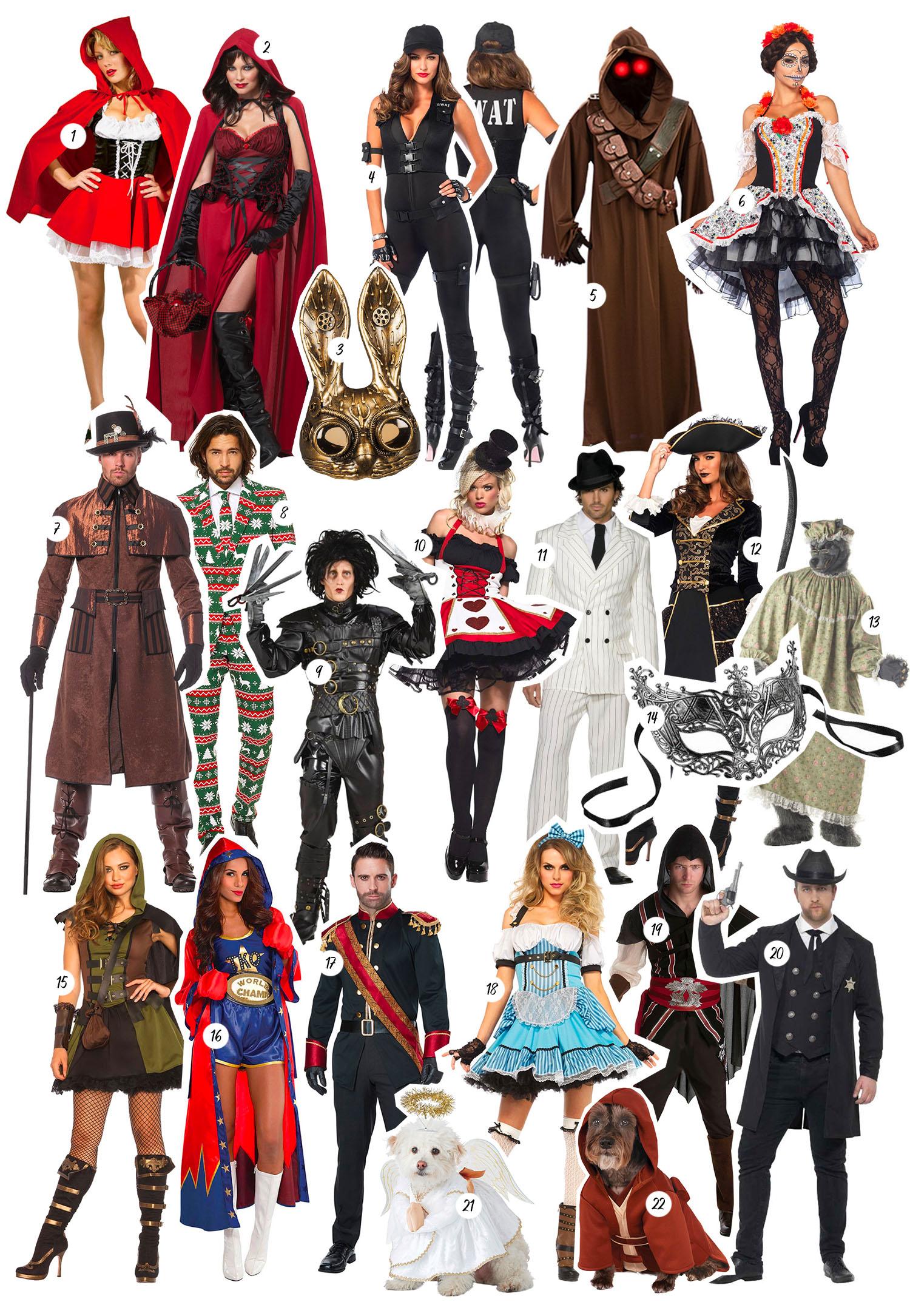Snyggaste maskeraddräkterna till Halloween |Maskeraddräkter från Partykungen