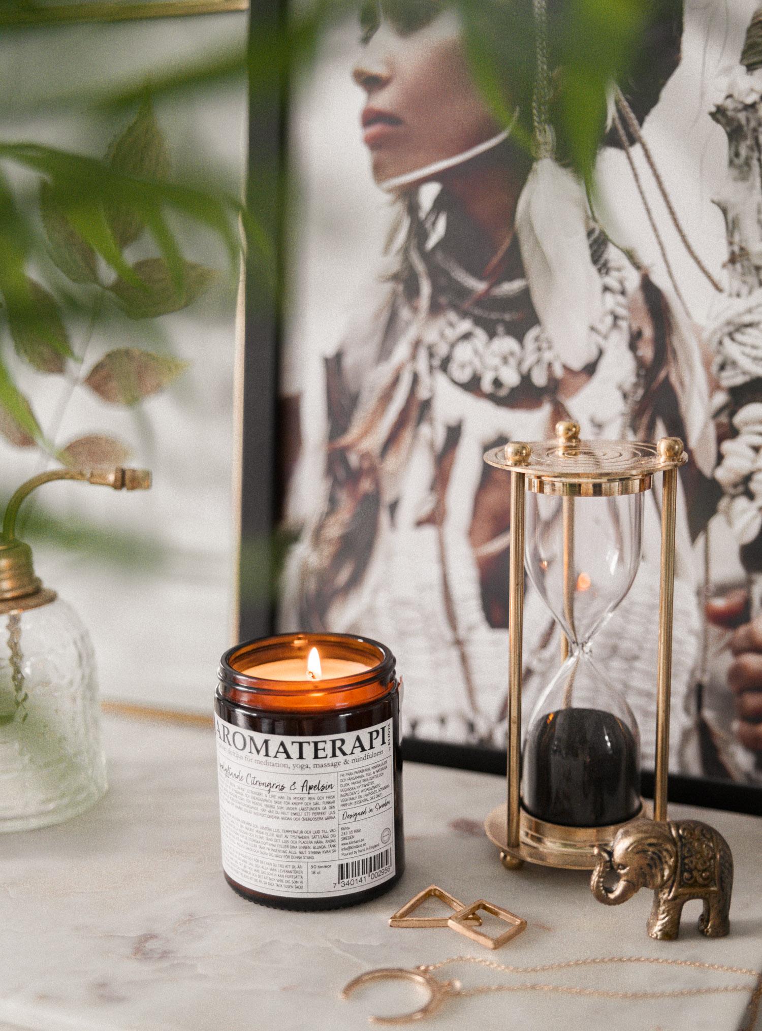 Topplista - Bästa doftljusen |Aromaterapi by Klinta Citrongräs & Apelsin