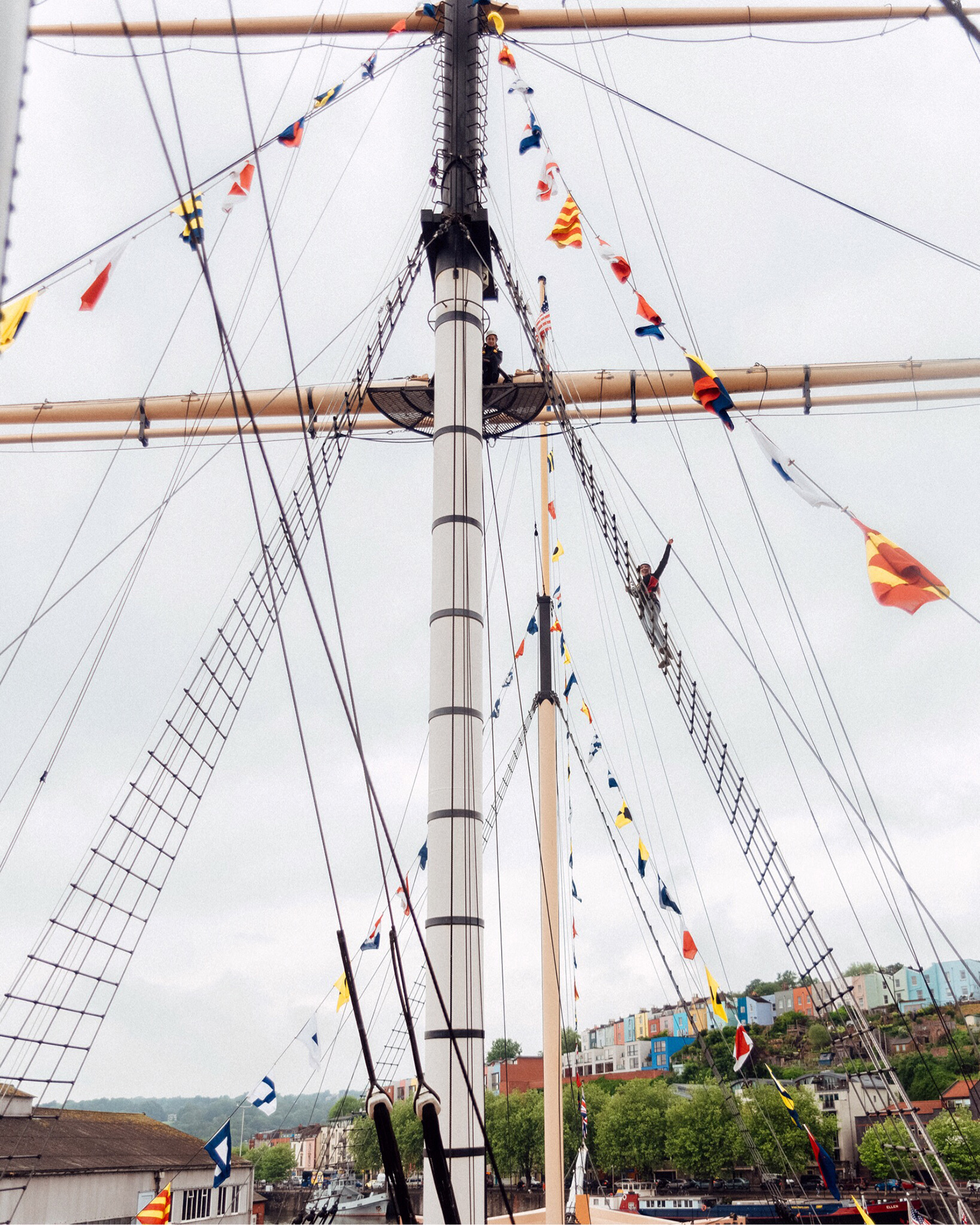 Things to do in Bristol | Climb the rigging on the ship SS Great Britain