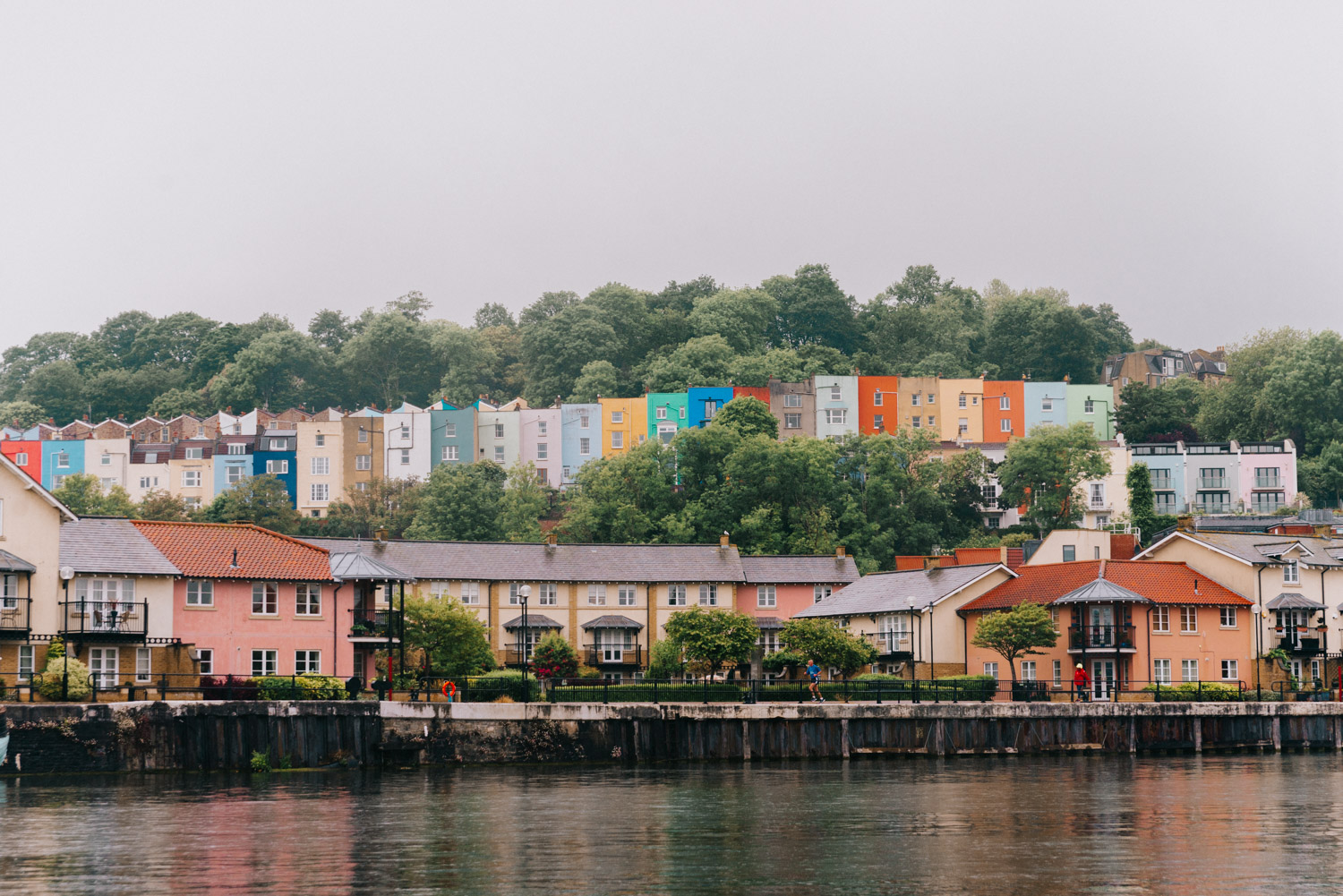 Colorful houses - Bristol's Harbourside |Travel Guide to Bristol