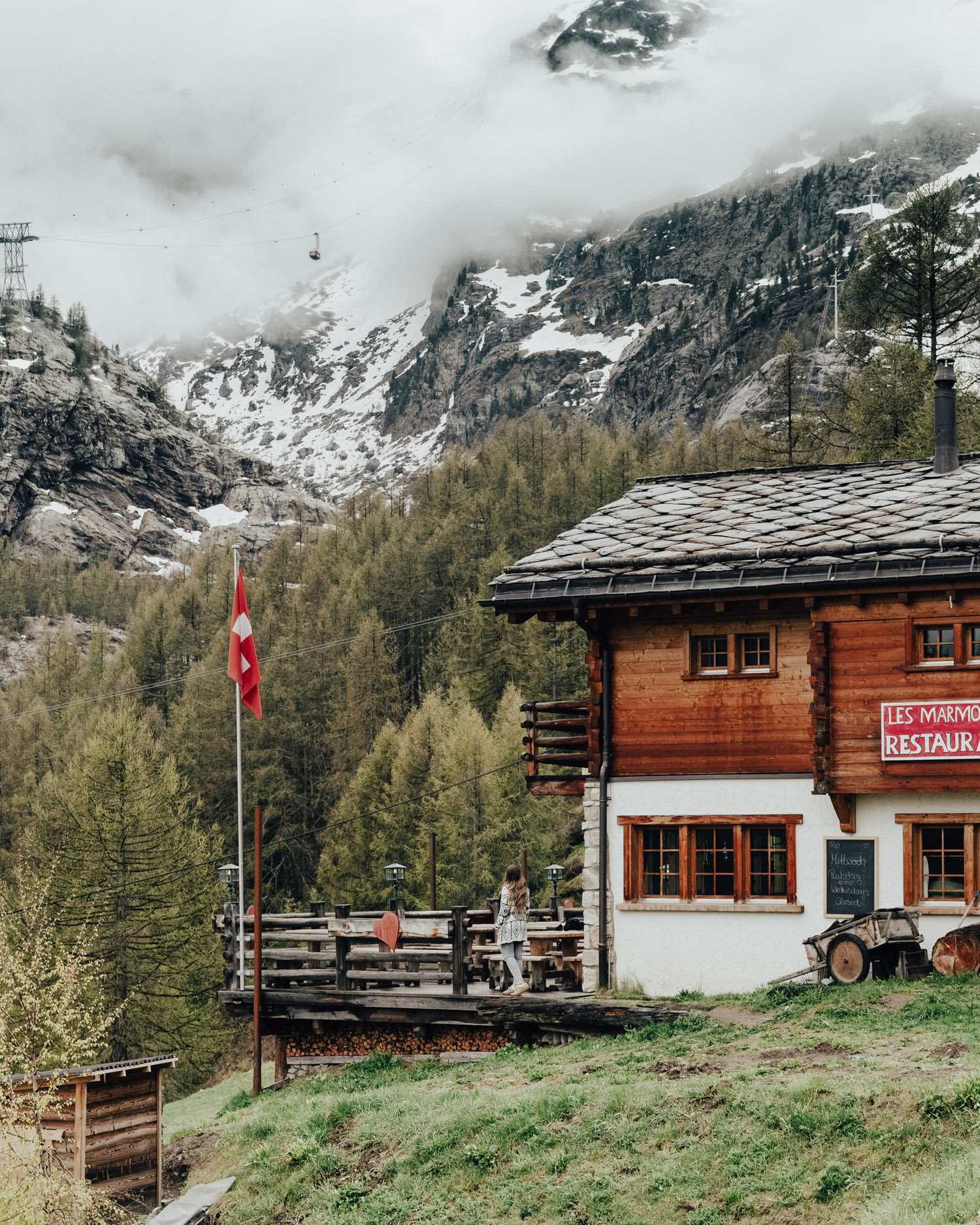 Things to do in Zermatt / Les Marmottes Restaurant