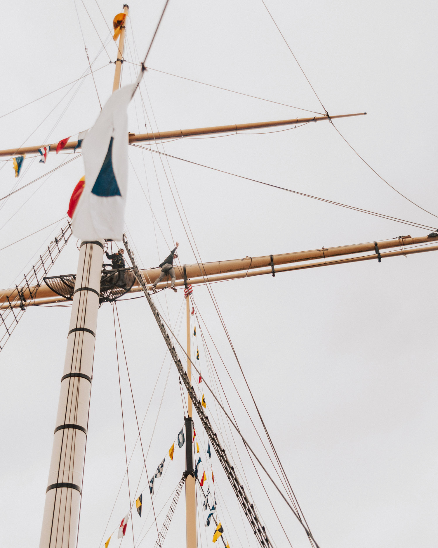 Things to do in Bristol, England |Climb the rigging on the ship SS Great Britain