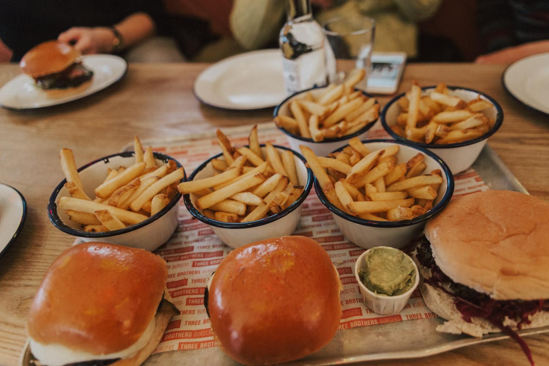 Three Brothers Burgers Restaurant in Bristol