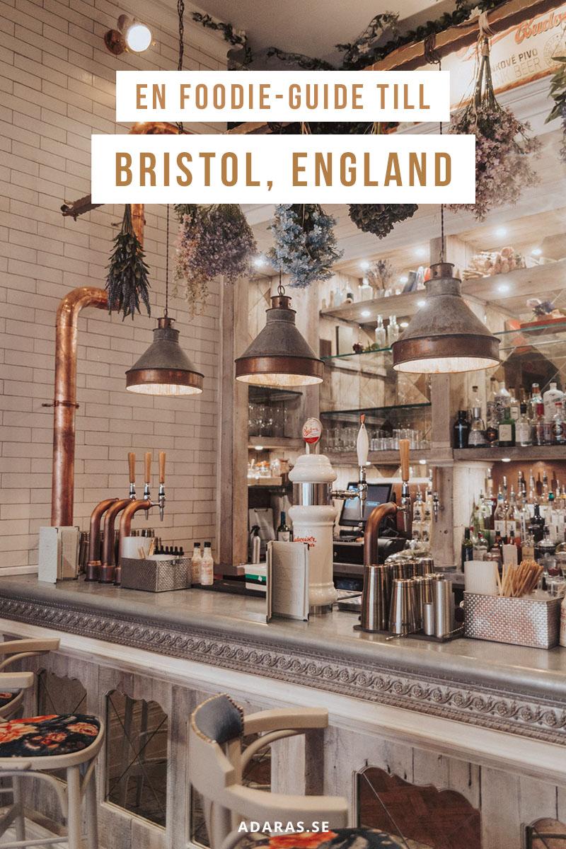 En foodie-guide till Bristol, England