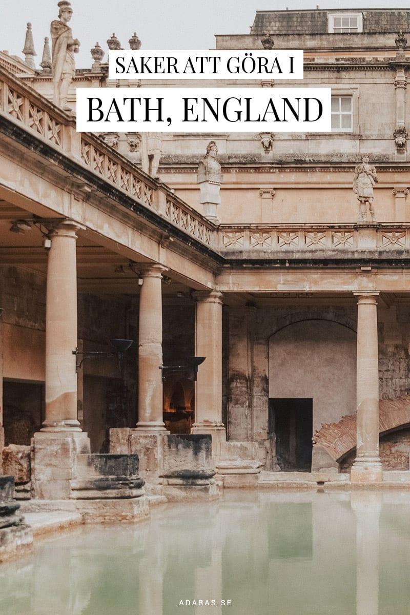 Saker att göra i Bath, England