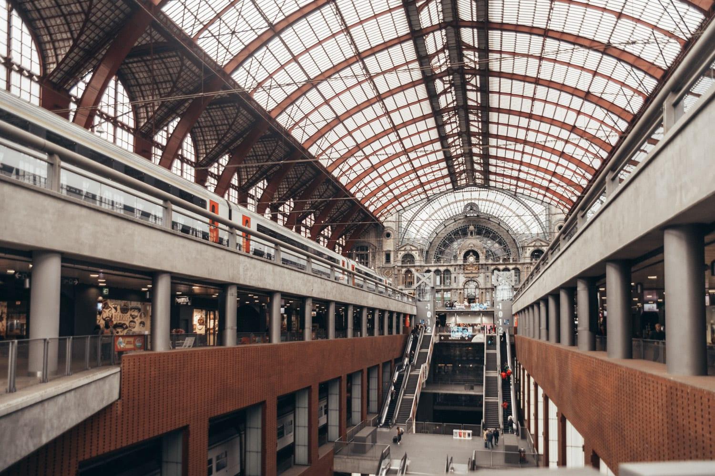 Antwerpen-Centraal i Belgien