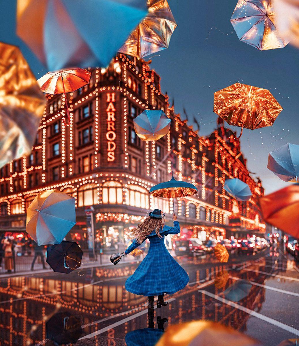 En Mary Poppins-Guide till London - Mary Poppins kommer tillbaka