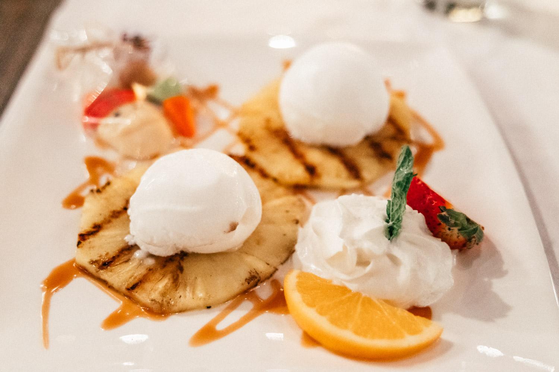 Dessert at Quinta del Carmen, Aruba
