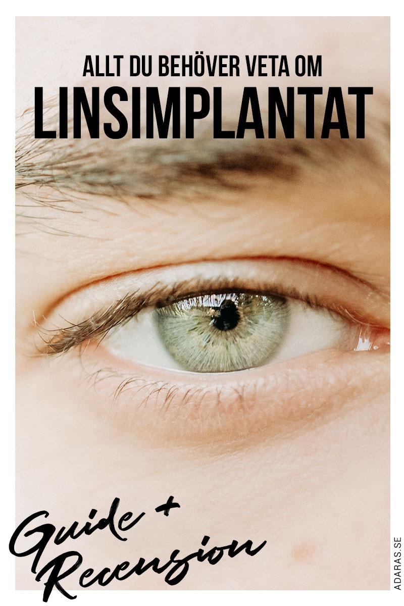 Allt du behöver veta om linsimplantat - ICL Guide & Recension