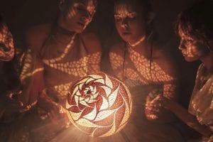 Magisk handgjord lampa från Calabarte