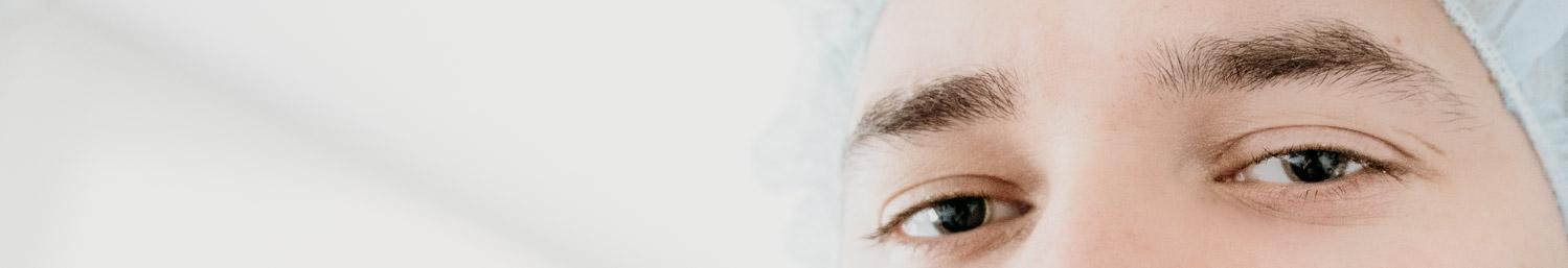 Utvidgade pupiller inför linsimplantat