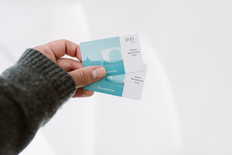 EVO Visian Patient Membership Card