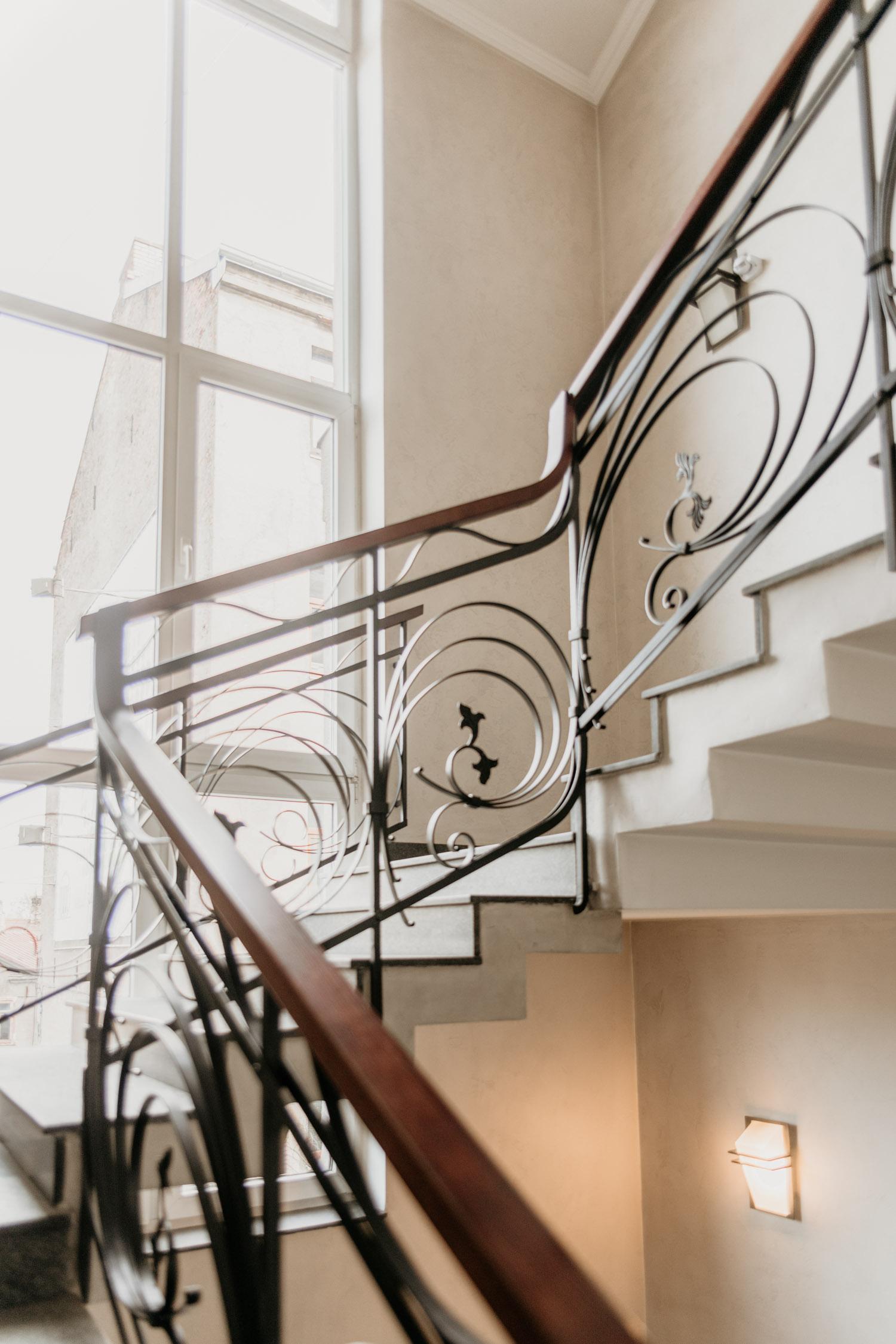 Vacker trapp på LAAC