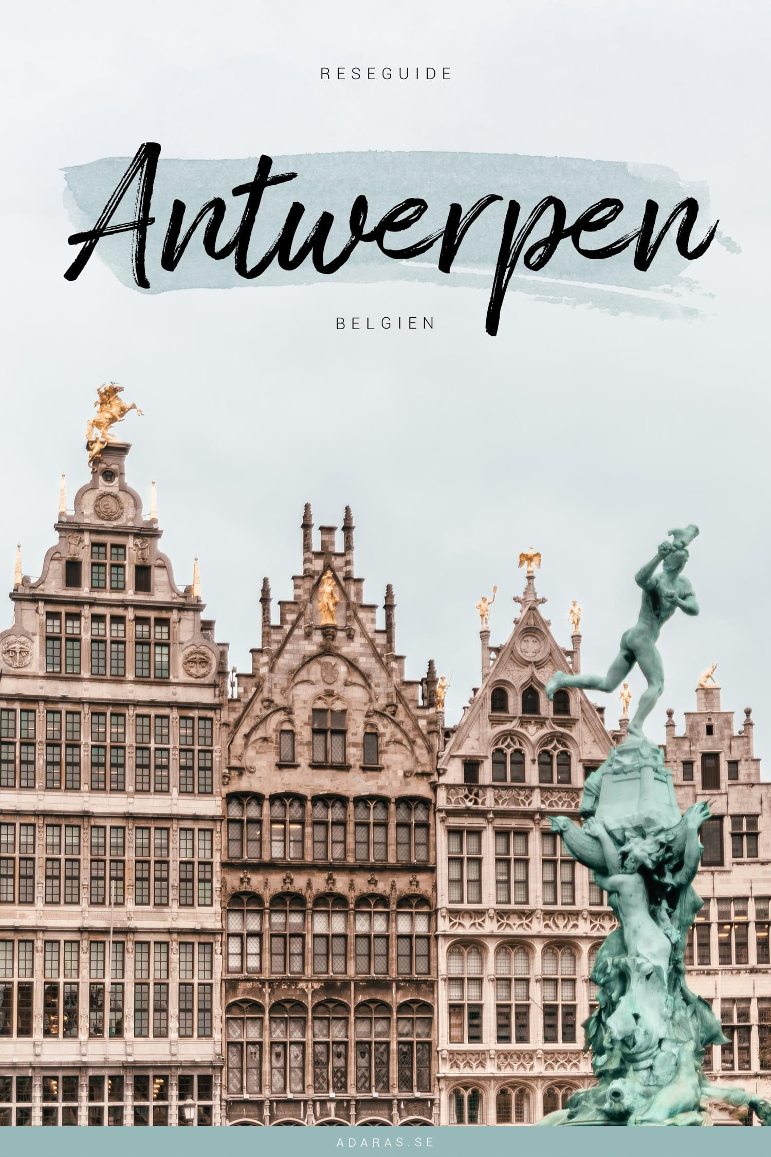 Saker att göra i Antwerp, Belgien | Reseguide