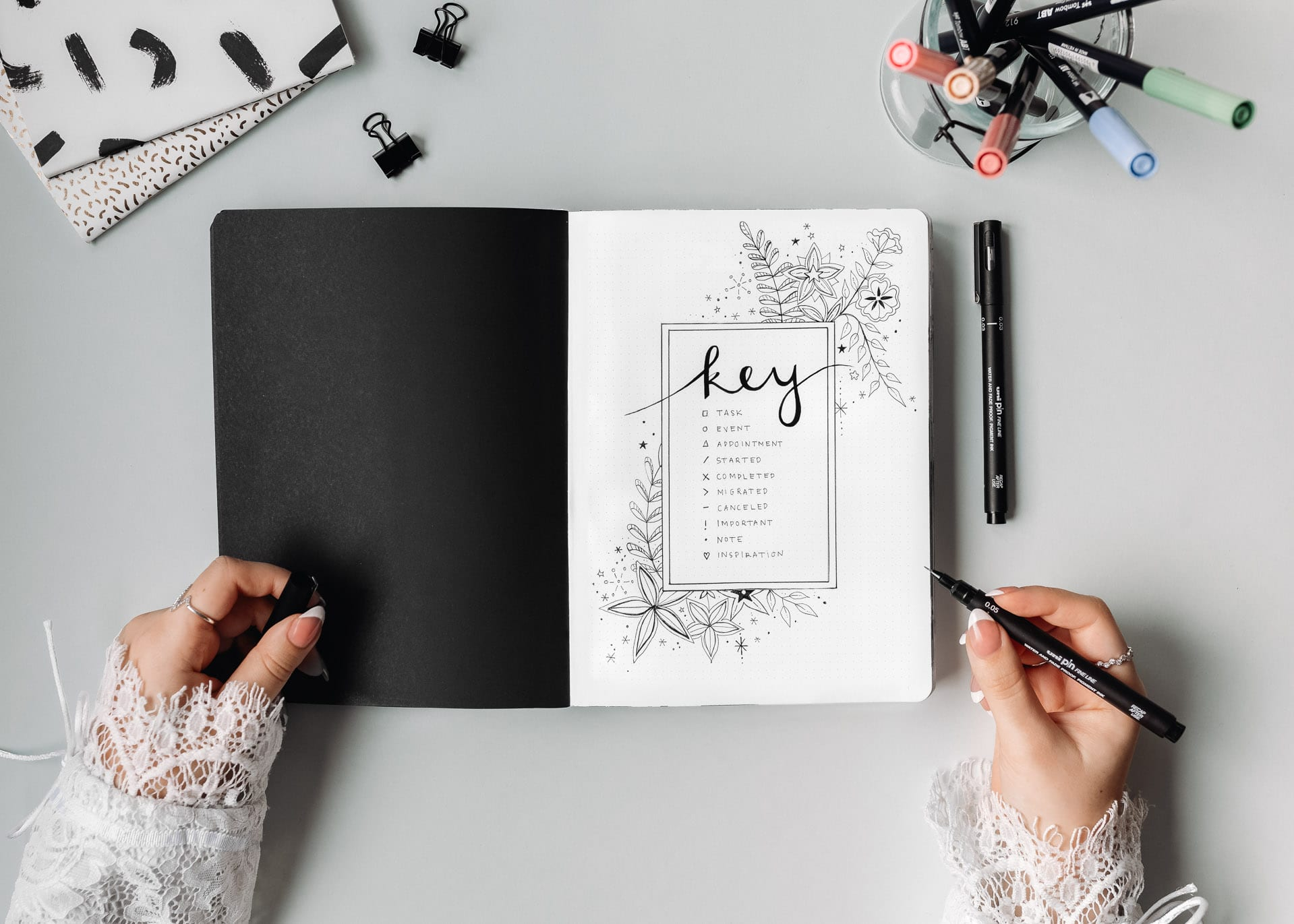 GUIDE: How to Start a Bullet Journal in 8 Simple Steps
