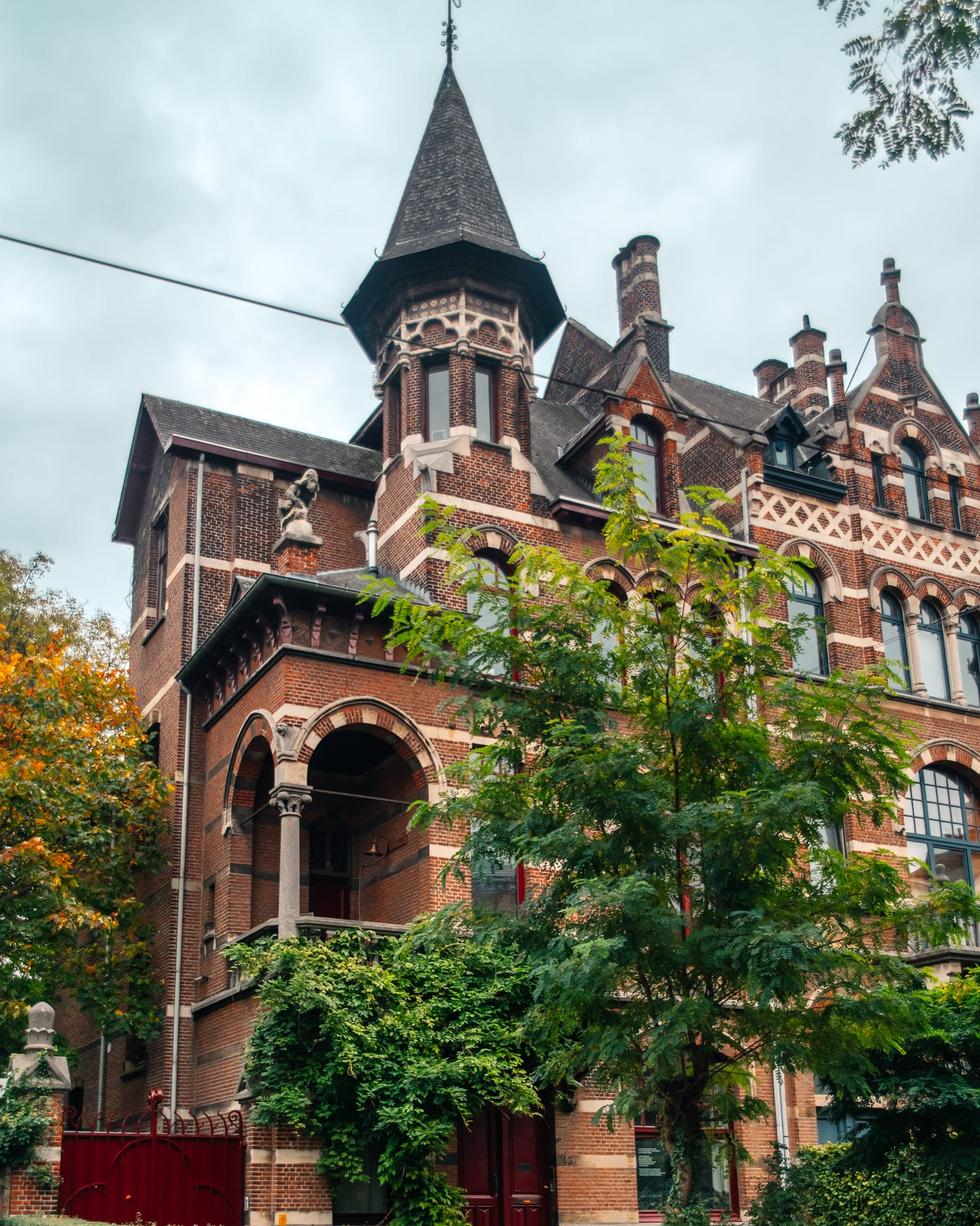 Neo Flemish Renaissance House In Zurenborg District, Antwerp