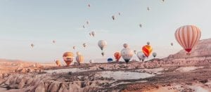 Flyg luftballong i Kappadokien, Turkiet | Guide till allt du behöver veta