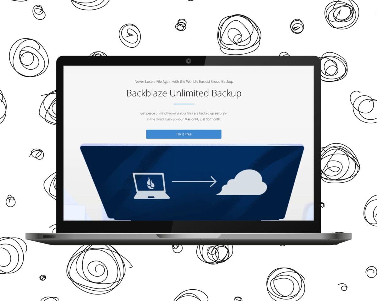 Backblaze - Molnbaserad backup |Tips på geniala produktivitetsappar