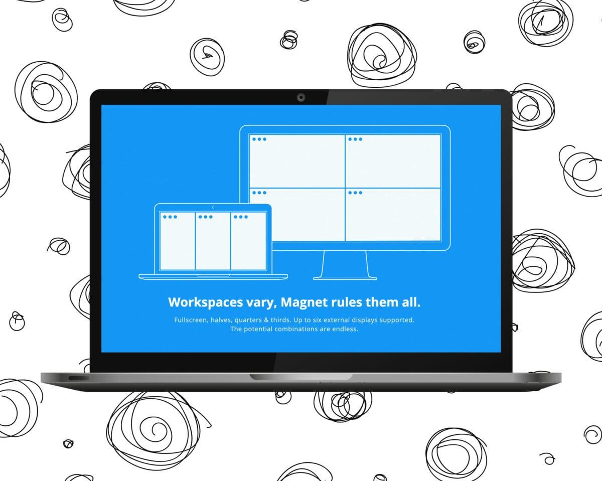Magnet - Multitasking & produktivitetsapp för Mac
