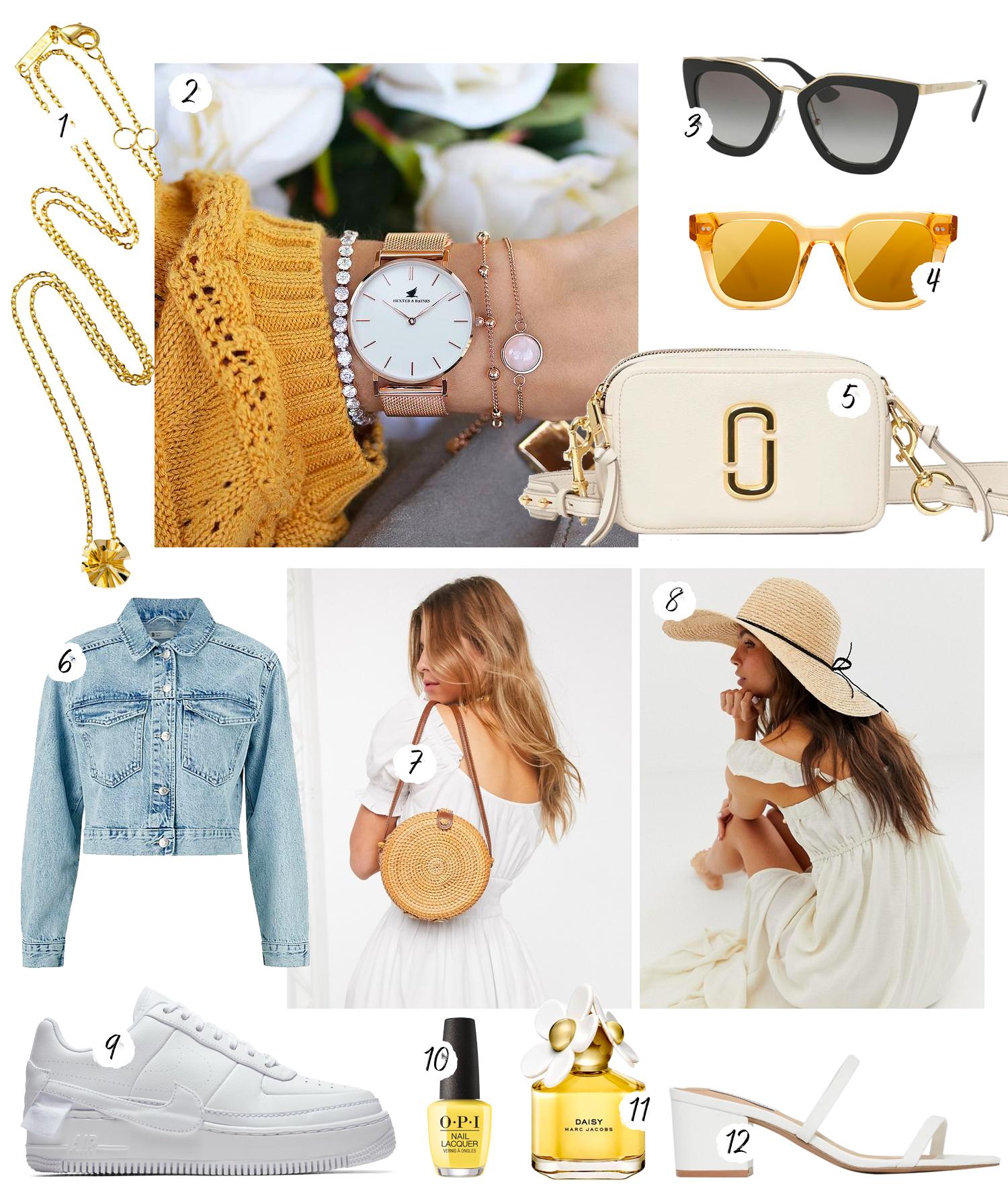 Så matchar du en gul klänning - Tips på accessoarer