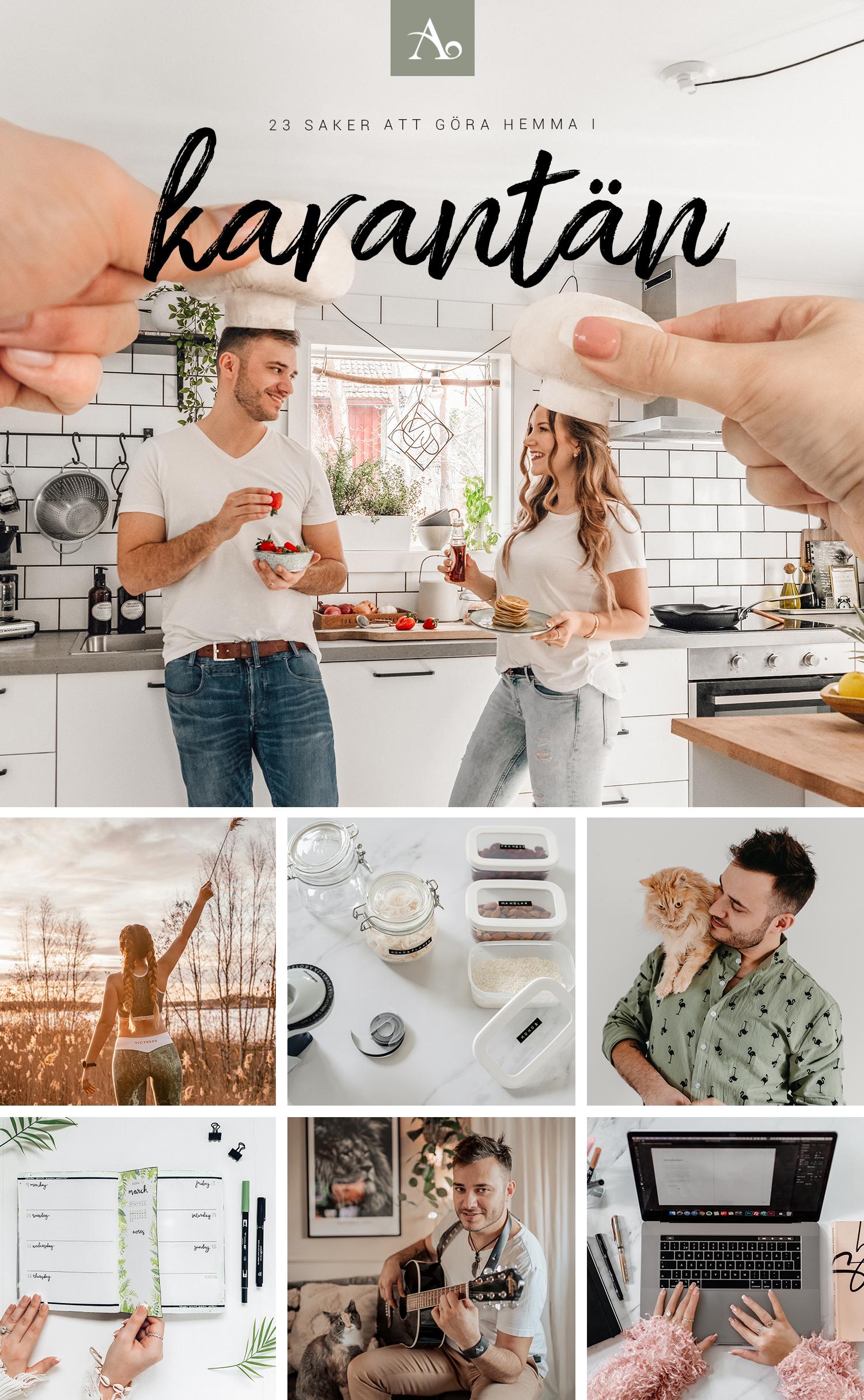 23 Grymma saker att göra hemma i karantän