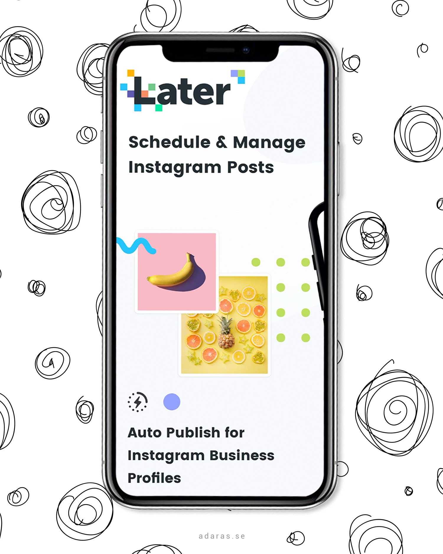 Later - Schemalägg dina inlägg på Instagram