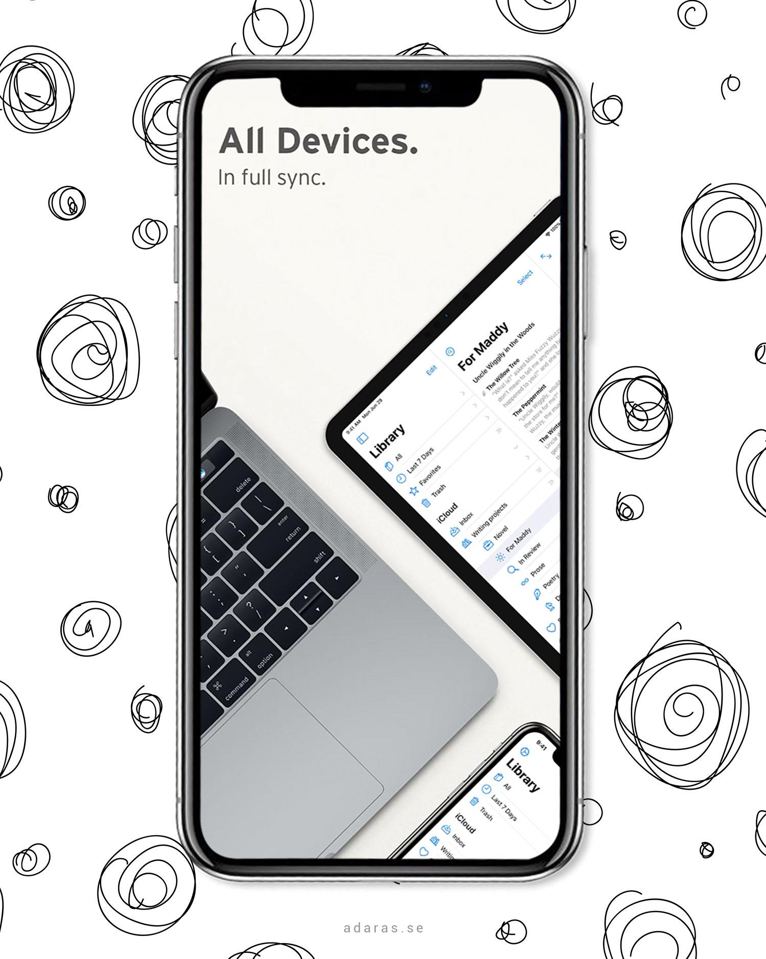 Ulysses - Distraktionsfritt skrivande för Mac, iPad & iPhone |Produktivitetsappar