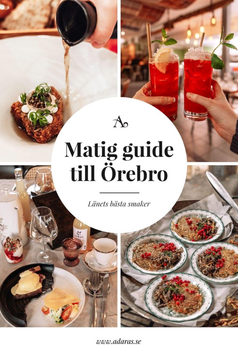 Matig guide: Bästa restaurangerna i Örebro län