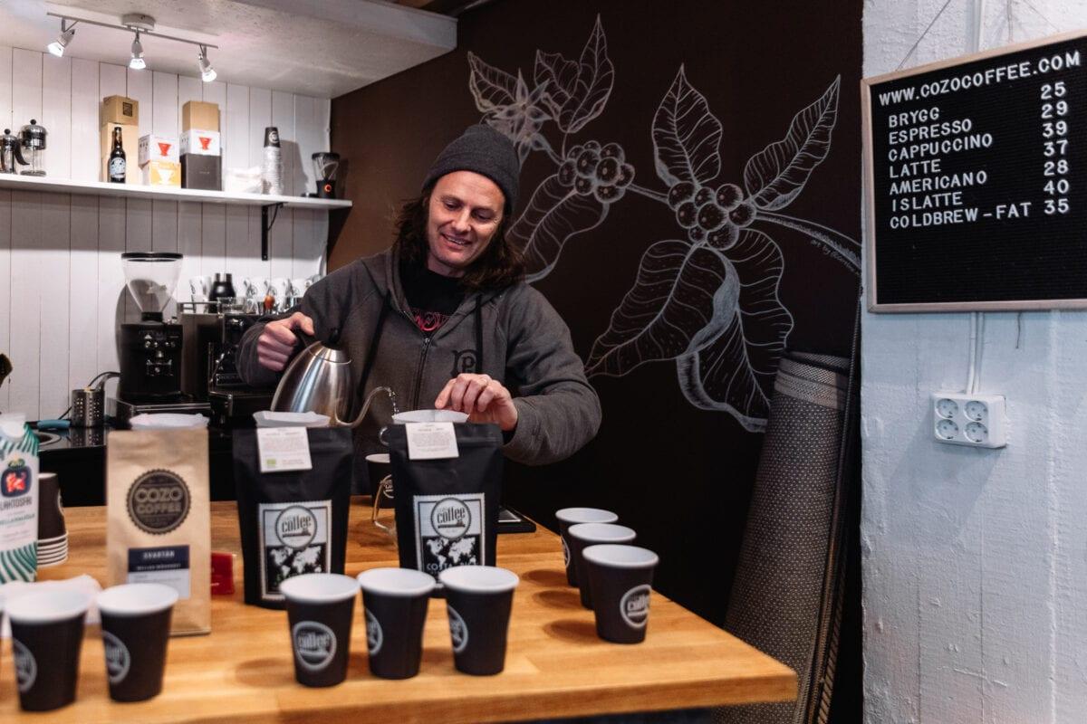 Kafferosteriet Cozo Coffee i Örebro