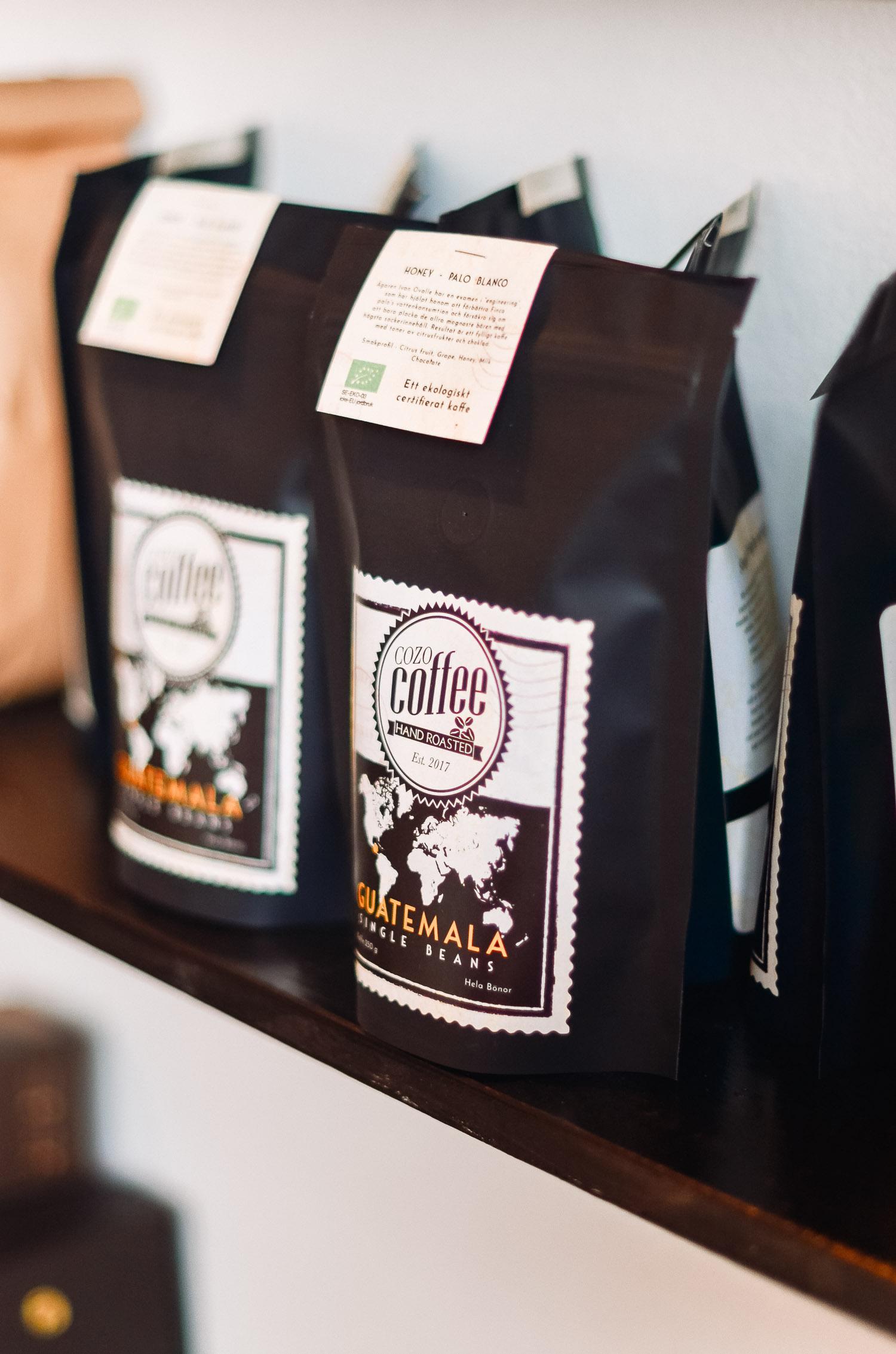 Hållbart odlat specialkaffe från Cozo Coffee i Örebro