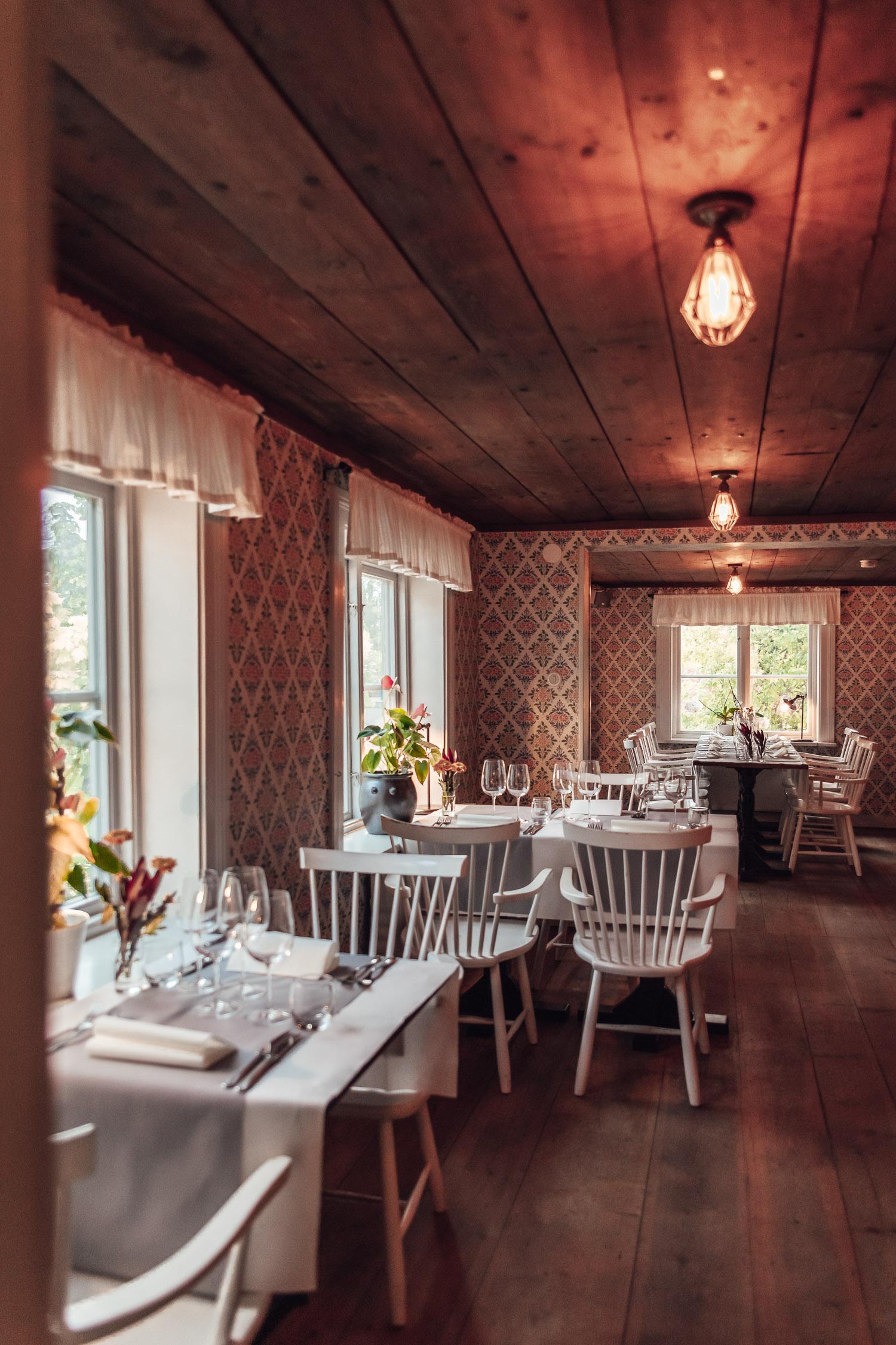 Mysigt café i Wadköping: Gamla Örebro Café & Konferens