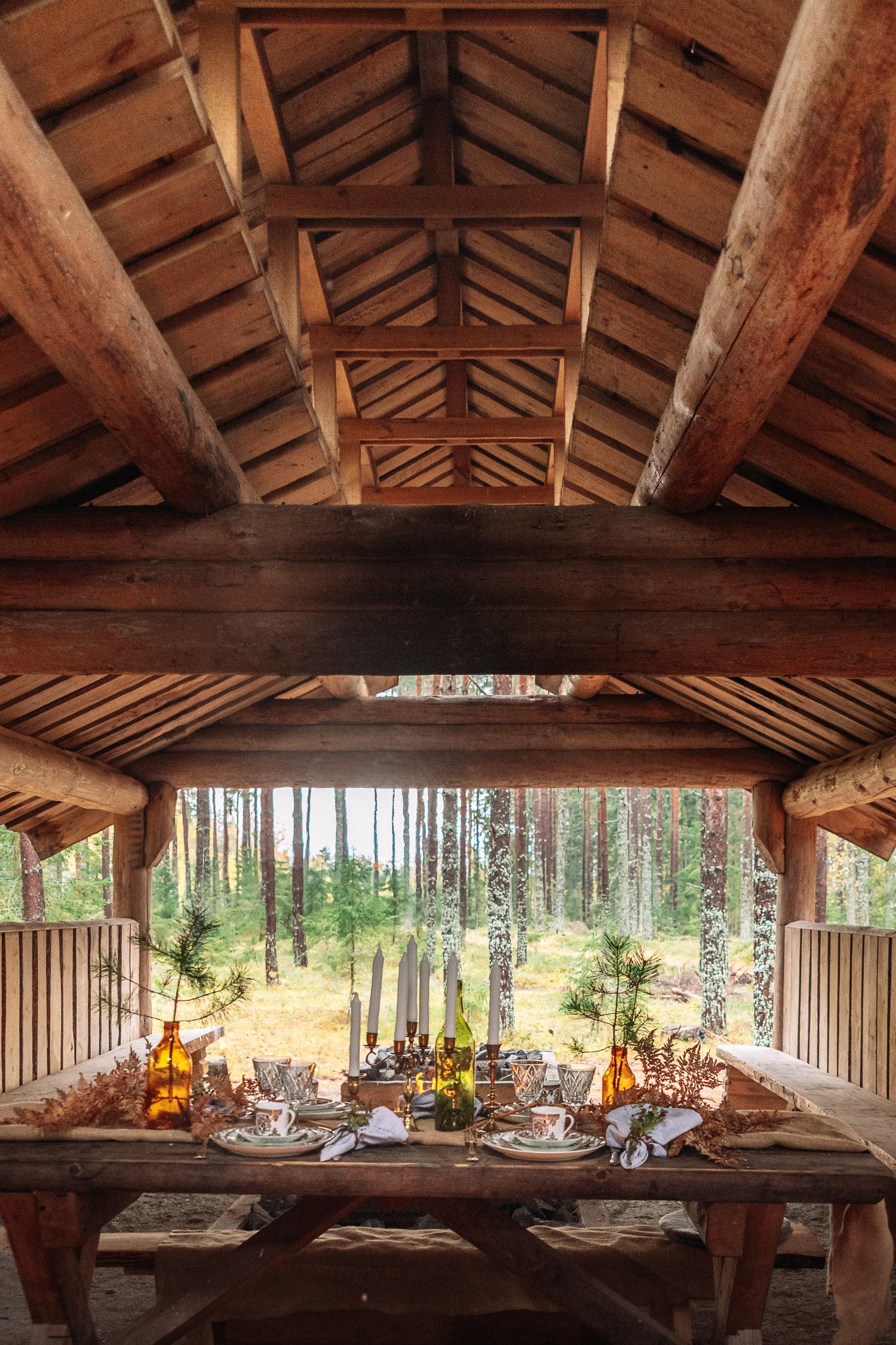 In Da Woods-matupplevelse med Ströms Catering, Örebro