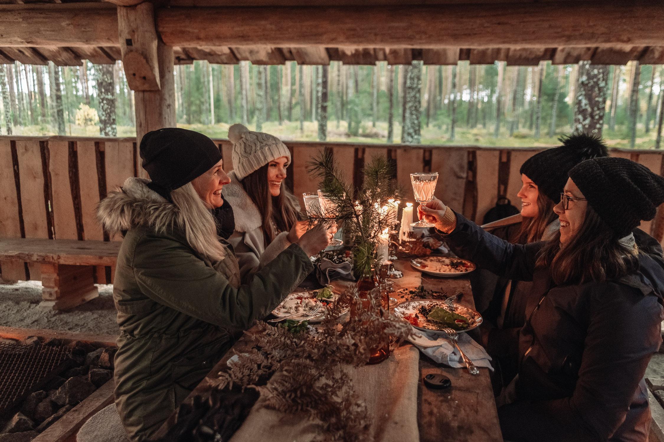 """Matupplevelse """"In da Woods"""" i Brevens Bruk, Örebro"""