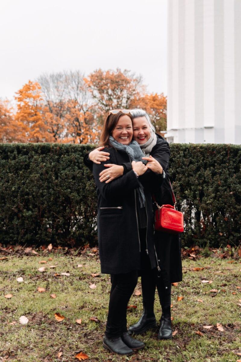 Ulla & Madelene från Svampen Restaurang i Örebro