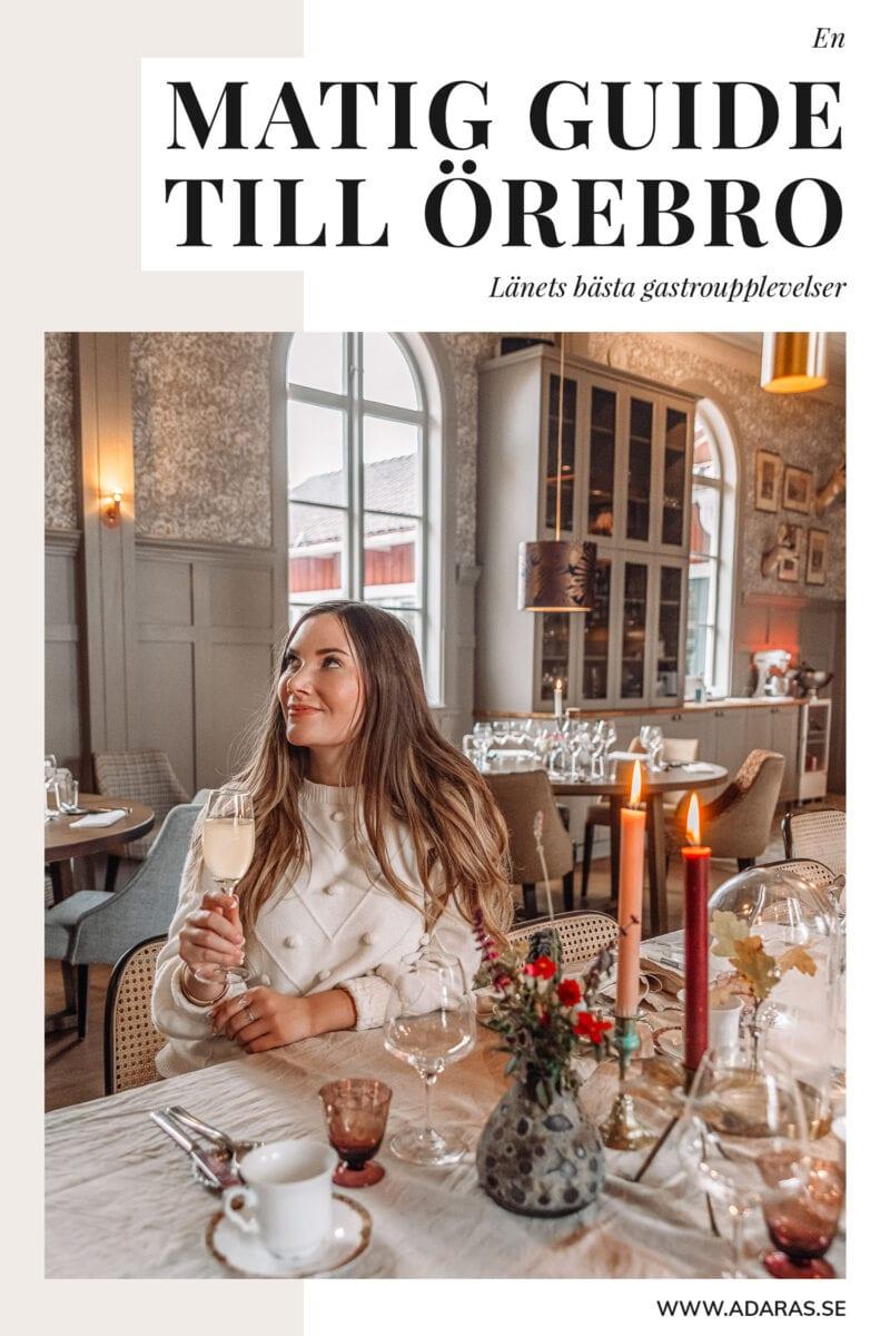 Matig guide: Fantastiska matupplevelser & restauranger i Örebro län