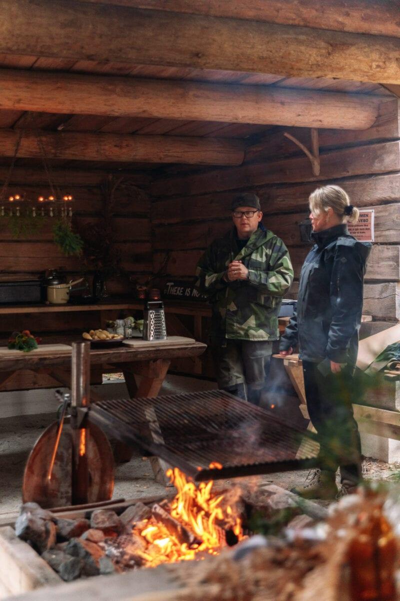 Jonas och Caroline från Ströms Catering