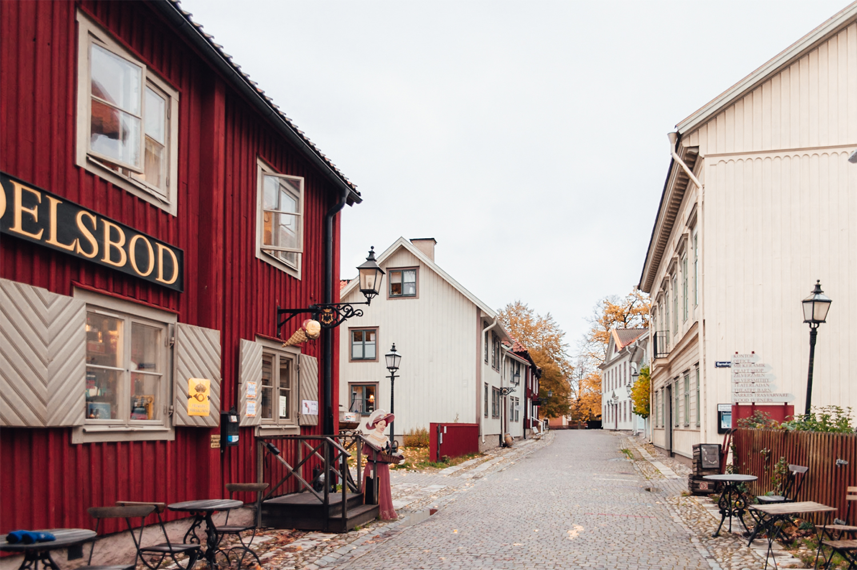 Gata i friluftsmuseet Wadköping, Örebro