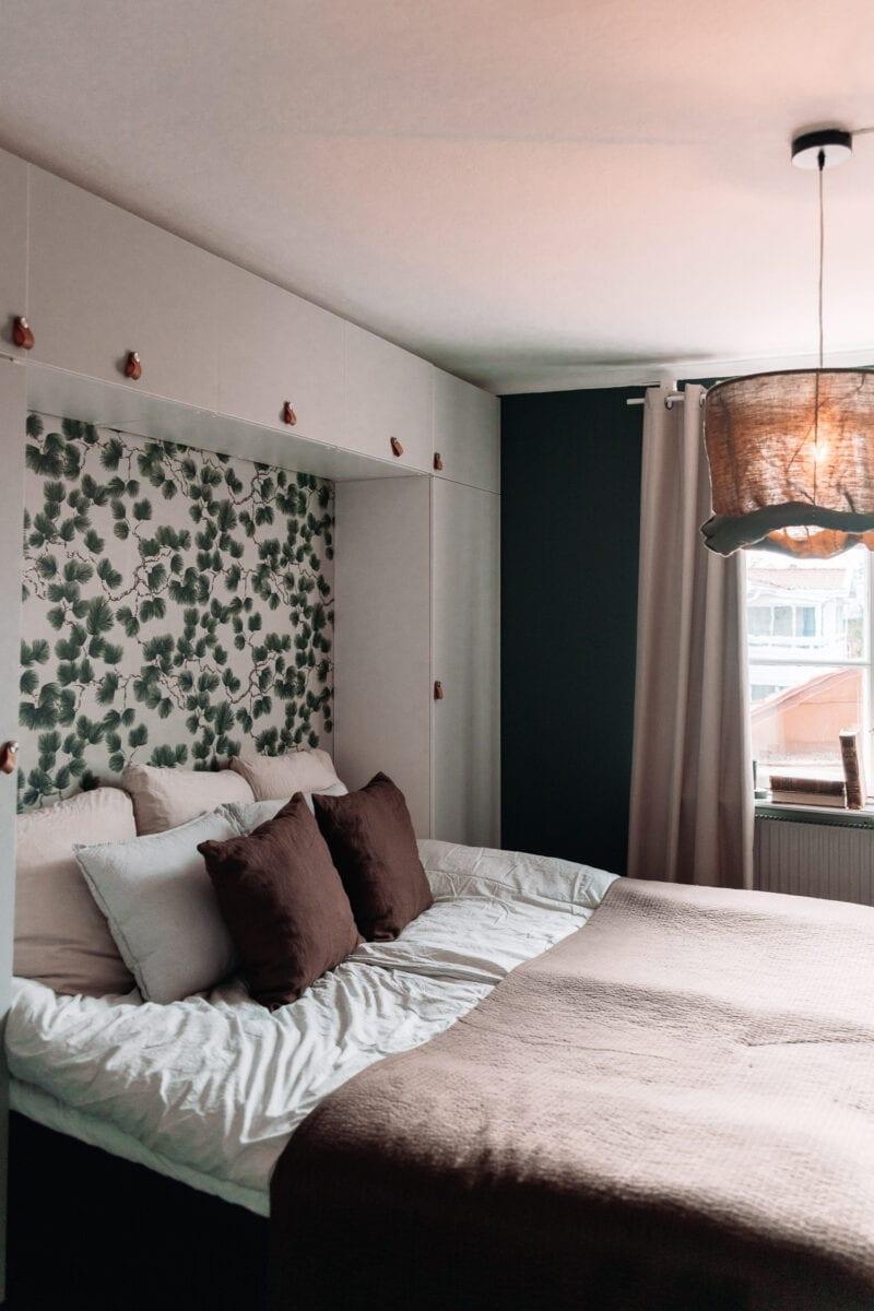 Charmigt sovrum på boende i Kumla på Egastronomi
