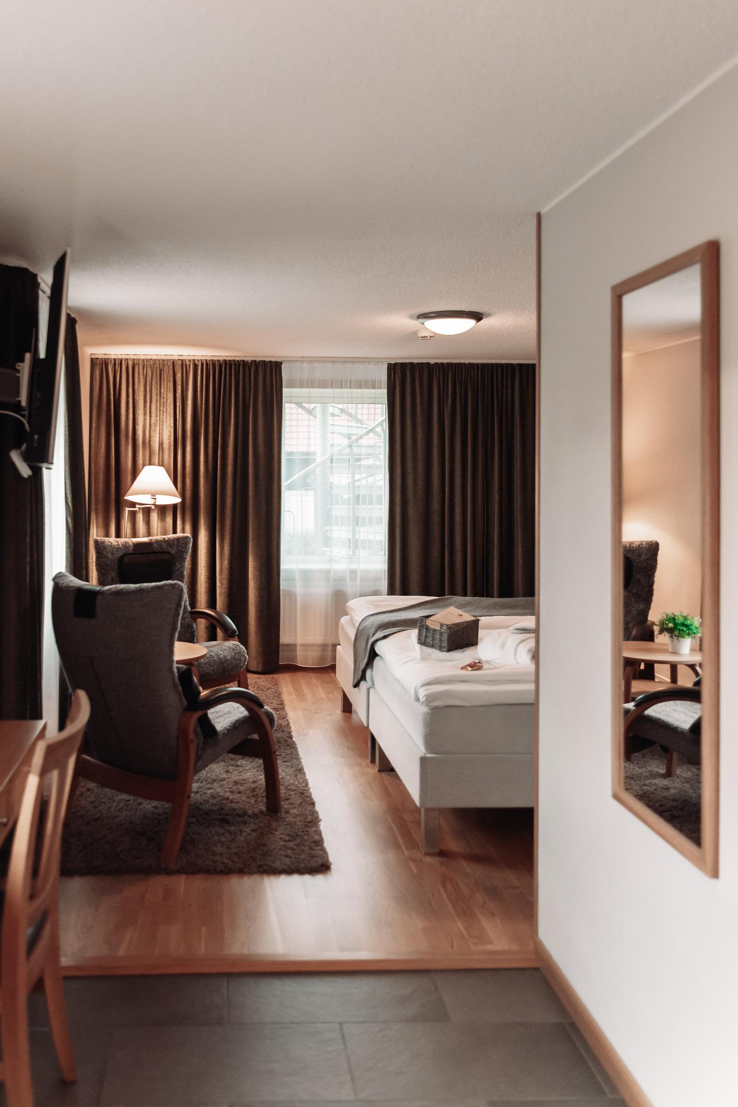 Hotellrum på Lanna Lodge Golf Resort i Örebro