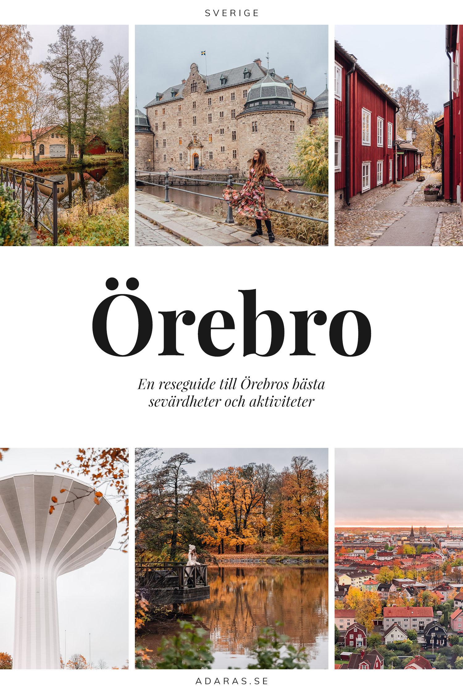 Reseguide: Tips på sevärdheter & saker att göra i Örebro, Sverige