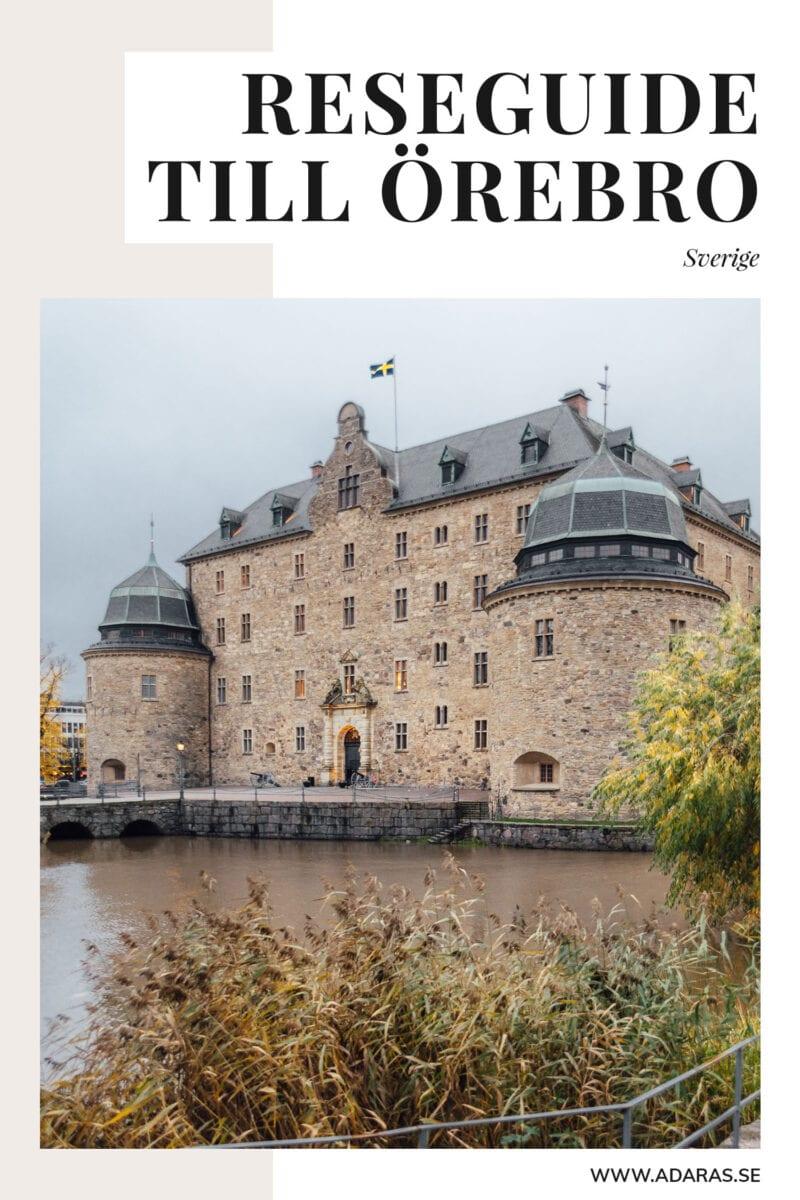 Reseguide till sevärdheter & Saker att göra i Örebro, Sverige