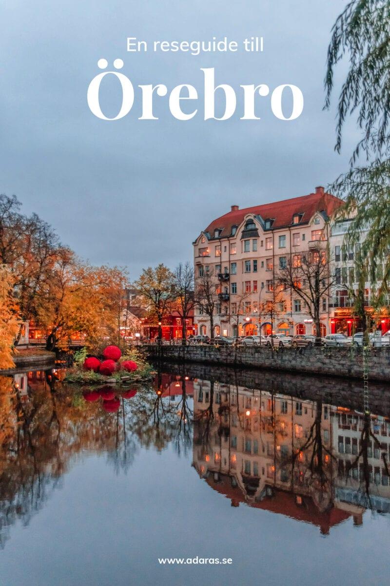 Reseguide: Sevärdheter & saker att göra i Örebro, Sverige